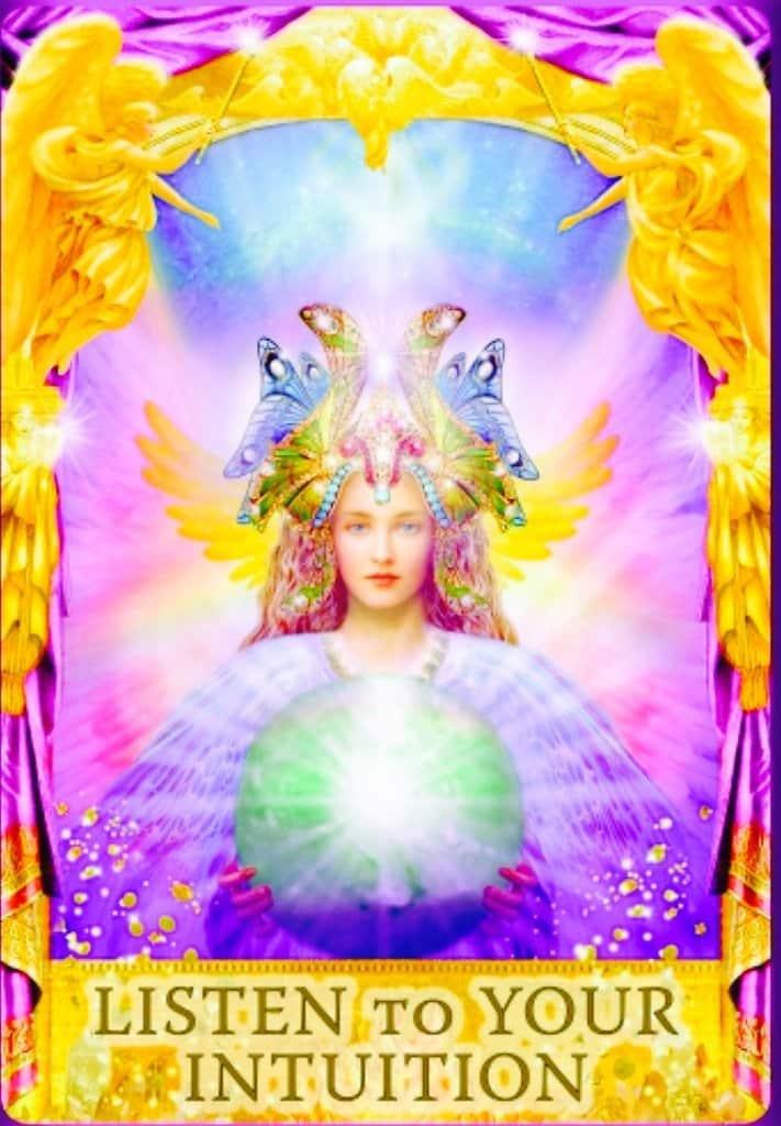 25luister naar je intuitie via Angel-Wings